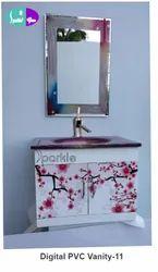 11 Digital PVC Vanity Set