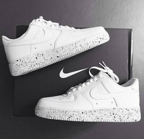 White And Black Nike Airforce 1Low Oreo