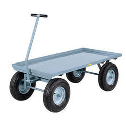 Platform Truck With Scooter Wheels