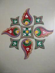 Indoor Acrylic Rangoli