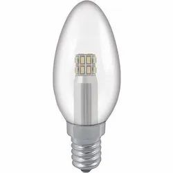 LED Candle Lamp, Lighting Color: Warm White, 3W