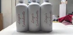 Aluminium SUBLIMATION BOTTLE PRINTING SERVICE, in Mumbai, Printing Location: Wherever You Want