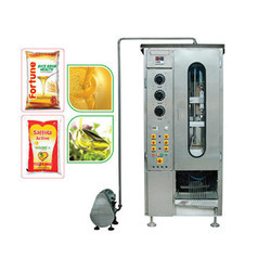 Mustered Oil Pouch Packaging Machine