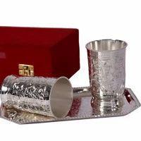 Wedding Return Gift German Silver Glasses