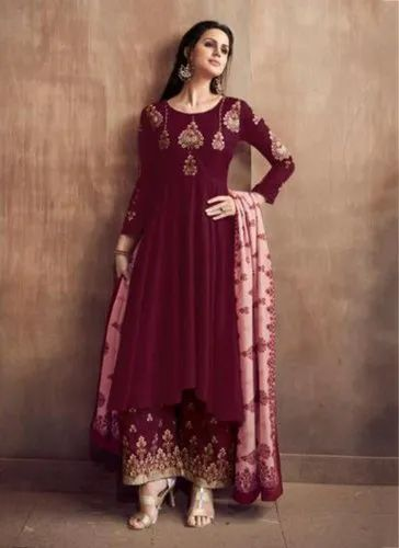 0d4d8c290f Magenta Party Wear Readymade Salwar Suits, Rs 1745 /piece | ID ...