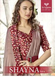 Triveni Shayna-8 Series 16701-16712 Stylish Party Wear Fancy Saree