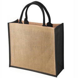Brown Plain Eco Friendly Jute Carry Bags, Packaging Type: Polly Bag