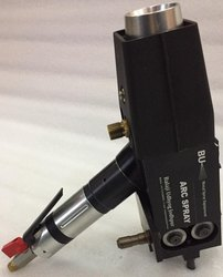 Wire arc Spraying Black Metal Spray Gun Air Drive, Model Number: Bu8830 Air Drive