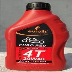 Euro Red 4T 20W40 SJ Oil