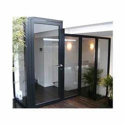 Aluminium Glass Casement Door