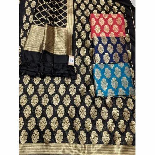 015c6cfae7 Kashvi Party Wear Banarasi Suit Material, ENS Creations | ID ...