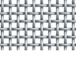 SS304 Twill Weave Wire Mesh For Electronic Industries