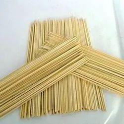Bamboo 10 Inch Plain Raw Incense Stick for Making Agarbatti