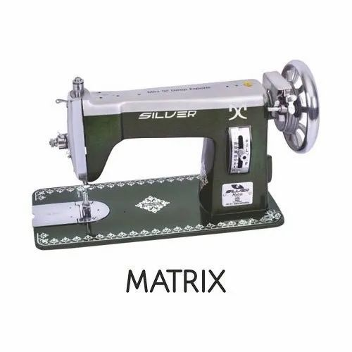 Silver Matrix Sewing Machine top, Automation Grade: Manual, Max Sewing Speed: 2000-2500 Stitch/min