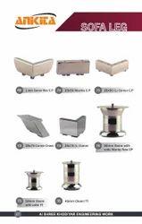 C.p T.t Met Stainless Steel Modern Sofa Legs