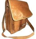 Genuine Goat Leather Messenger Bag