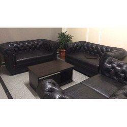 Peachy Leather Sofa Set Machost Co Dining Chair Design Ideas Machostcouk