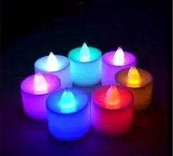 Colorful LED Candle