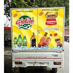 Printed Mobile Van Branding Services, for Advertising