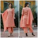 Cotton Printed Ladies Designer Party Wear Suit