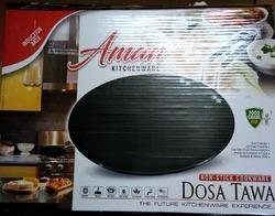 Non- Stick Commercial Dosa Tawa, Packaging Type: Box