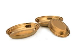 Stainless Steel Oval Serving Dish Pan Platter