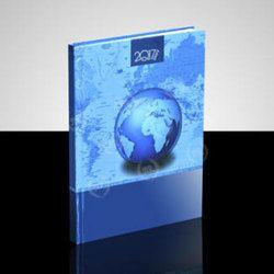 Blue Printed Diary