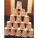 120ml Printed Paper Tea Cup, Packet Size: 100 Pieces