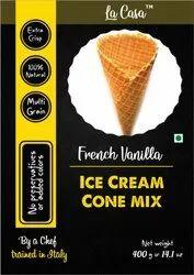 La Casa Powder French Vanilla Ice Cream Cone Mix