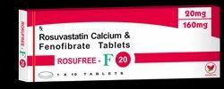 Rosufree F 20 - Rosuvastatin 20mg Fenofibrate 160mg