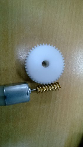 Brass Worm And Worm Gear