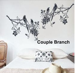 Big Stencils Couple Branch