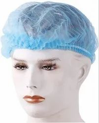 Medex 100 Pcs Disposable Non Woven Bouffant (White) Surgical Head Cap (Disposable)