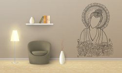 Buddha Wall Decal