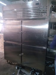SS 4 DOOR FREEZER / CHILLER