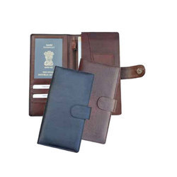 Teckcraft Couture Available in Black,Brown Flap Leather Passport Holder