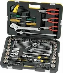 Metal Stanley 99-059-12 132Pc. Metric & A/F Tool Kit, Packaging: Box