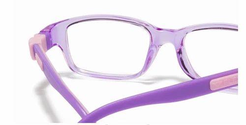 c617741c2b8 Vincent Chase Purple Transparent Pink Full Rim Rectangle Kids Eyeglasses