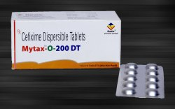 Cefixime 100 mg & 200 mg Dispersible Tablets