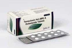 Tamsulosin 0.4 Mg Dutasteride 0.5 Mg Tablets