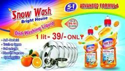 Organic Liquid Dish Wash