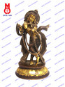 Lord Krishna Statue With Mala