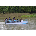 FRP Flat Bottom Boat With Canopy (14 Seater)