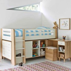 Kids Wooden Bed, Thickness: 19 mm