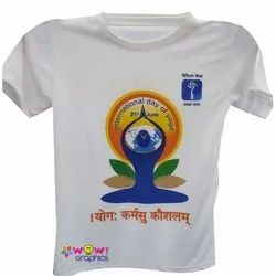 Wow Graphics Polyester Designer Sublimation T Shirt