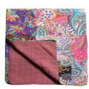 Floral Multi Printed Kantha Quilt