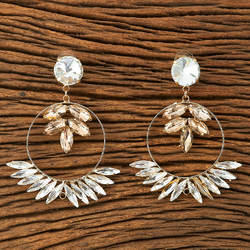 Indo Western Trendy Earring with gold plating 9438