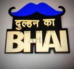 Dulhan Ka Bhai Coat Brooch