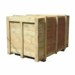 Edible & Non-Edible Rectangle Heavy Duty Boxes Of Pine Wood, For Industrial Pacakging, Box Capacity: 1000-2000 Kg