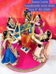 Krishna Hand Made Golu Doll